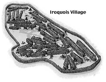 What were the settlement patterns and lifestyle of the Iraquois?